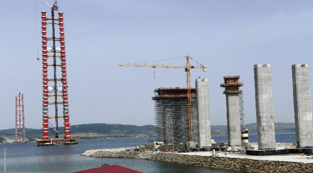 Kuleler Erdoğanın da online katılacağı törenle tamamlanacak