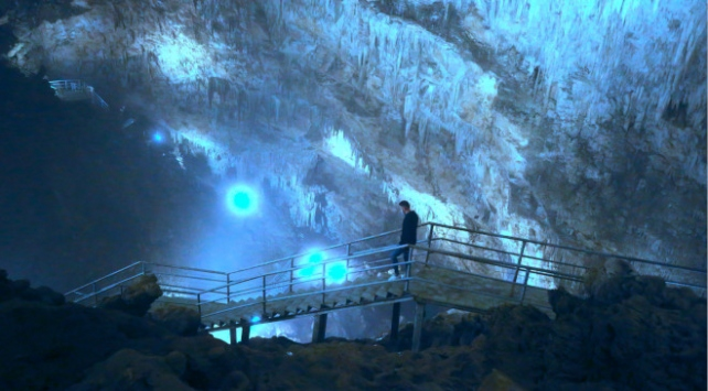 Sarıkaya Mağarası ziyaretçilerini ağırlayacağı günü bekliyor