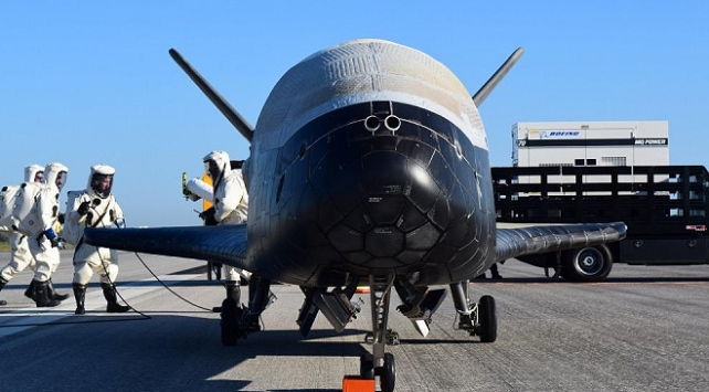ABDnin gizli görev uçağı uzayda
