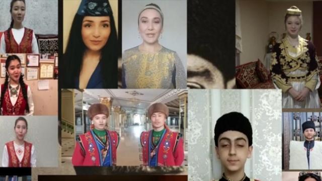 Farklı ülkelerden 13 genç 19 Mayıs coşkusunu paylaştı