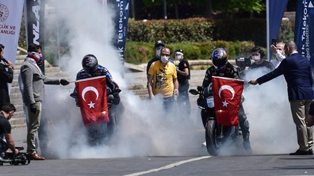 Türk Telekom 19 Mayıs Atatürk Rallisi yapıldı