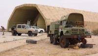 Libya'da kurtarılan Vatiyye Askeri Üssü'nü TRT ekibi görüntüledi