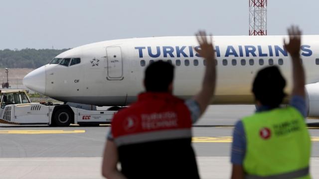 THY 9 milyon sanal yolcusuyla Samsun'a uçtu