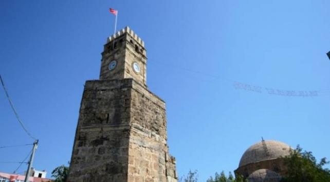 Antalyada tarihi saat kulesi özgün kubbesine kavuşacak