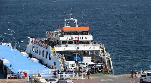 """Çanakkalede deniz ulaşımına """"4 günlük kısıtlama"""" düzenlemesi"""