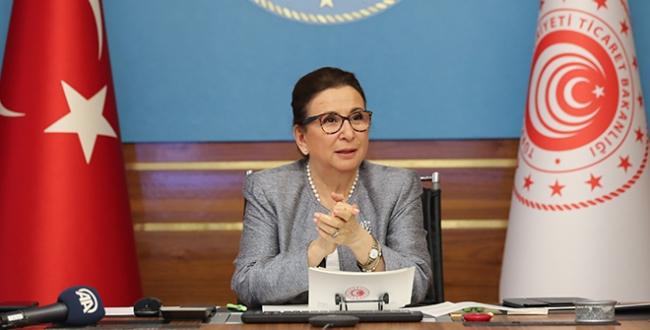 Pekcan: 579 bin 91 esnafa 14,4 milyar lira kredi kullandırıldı