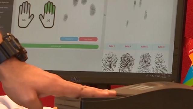Türkiye'nin ilk yerli parmak izi sistemi hazır