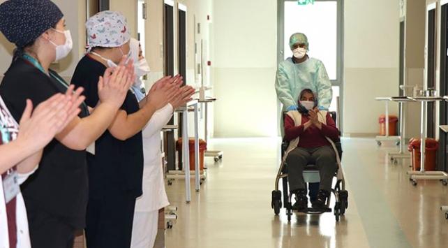 Türkiyede virüsü yenen hasta sayısı 115 bine yaklaştı