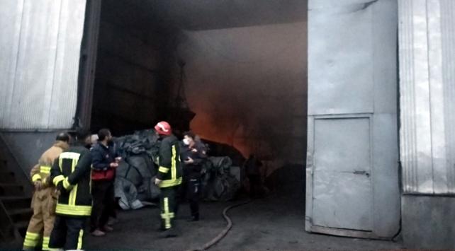 Kocaelindeki fabrika yangını söndürüldü