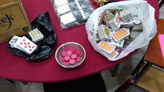 Kırıkkalede kumar oynayan 12 kişiye para cezası
