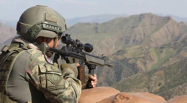 Barış Pınarı bölgesine sızmaya çalışan 10 terörist etkisiz hale getirildi