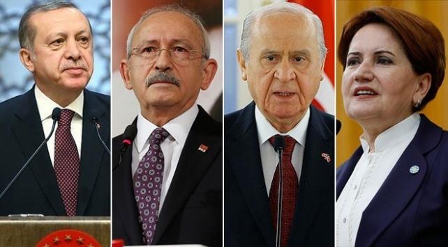 Liderlerin Ramazan Bayramı programı belli oldu