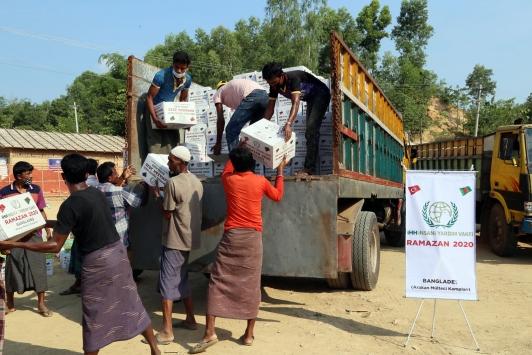 İHHdan Asya ülkelerine ramazan yardımı
