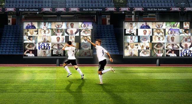 """Danimarkada seyircisiz maçlara """"sanal tribün"""" çözümü"""
