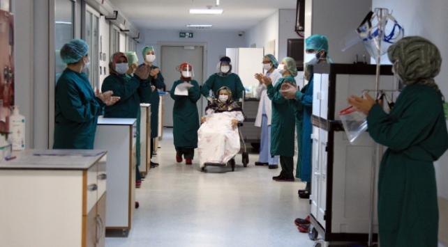 Türkiyede iyileşenlerin sayısı 116 bini geçti