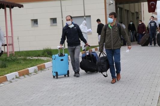 Yozgatta karantinadaki 205 kişi evlerine gönderildi