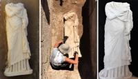 Patara'da bulunan heykel arkeologları heyecanlandırdı