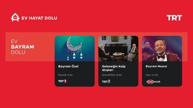 Türkiye TRT ekranlarında bayramlaşacak