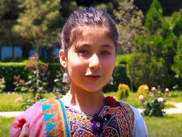 Afganistandaki çocuklardan Türkiyeye bayram mesajı