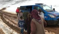 Kahramanmaraş'ta mahsur kalan 30 yaylacı kurtarıldı