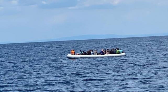 Yunanistanın ölüme terk ettiği 40 sığınmacı kurtarıldı