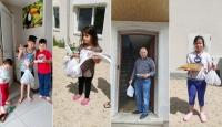 DİTİB camisinden mültecilere bayram ikramı
