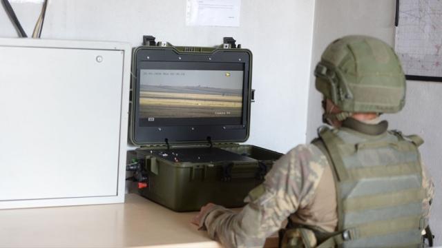 Yerli radarlar Suriye'deki teröristleri 24 saat izliyor