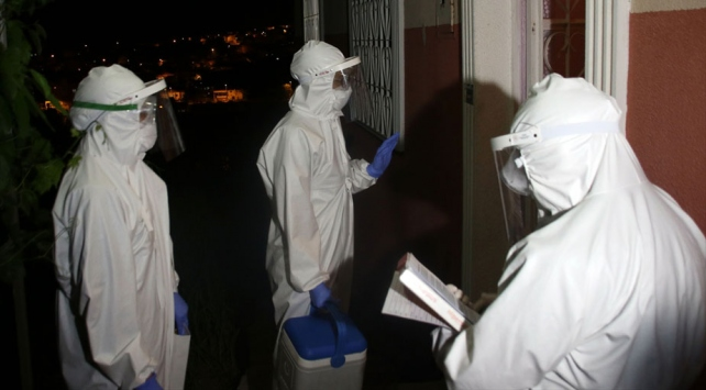 Filyasyon ekipleri 7/24 esasıyla virüsün izini sürüyor