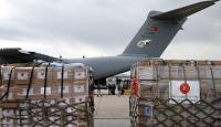 Türkiye'nin yardım uçağı Çad'a ulaştı
