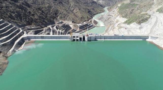 Çetin Barajında enerji üretimi başladı
