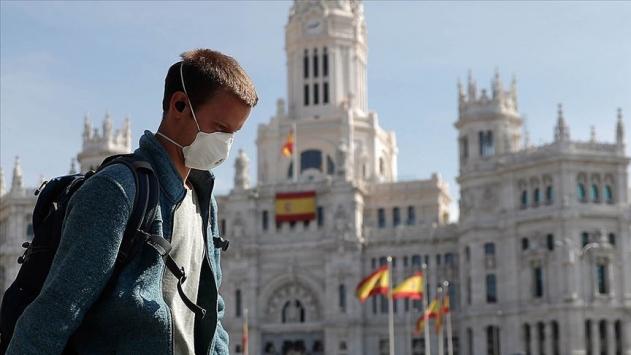 İspanya'da son 24 saatte 1 kişi öldü