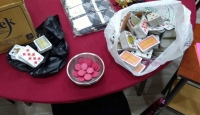 Kırıkkale'de kumar oynayan 23 kişiye 72 bin 450 lira ceza