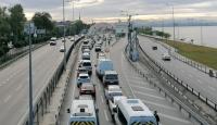 Avrasya Tüneli'nde teknik arıza trafiği aksattı