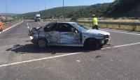 Mersin'de trafik kazası: 1 ölü, 4 yaralı