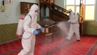 Mazıdağı'nda camiler dezenfekte edildi