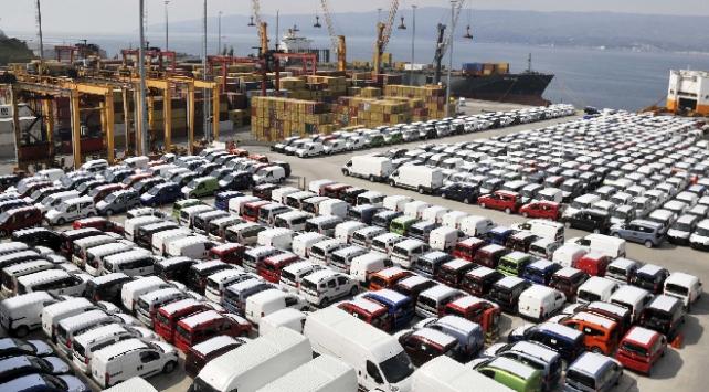 Sakaryadan 4 ayda 1 milyar doları aşkın otomobil ihracatı