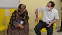 Türkiye'den terörden arındırılan Tel Abyad'da hasta ziyareti