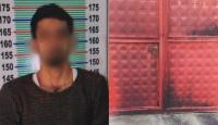 HDP binasının kapısını ateşe veren kişi, PKK şüphelisi çıktı