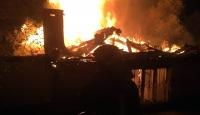 Muğla'da yangın: Tek katlı ev kül oldu