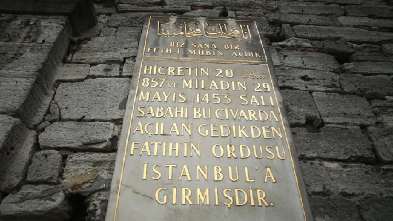 İstanbul surlarının tarihe tanıklık eden kapıları