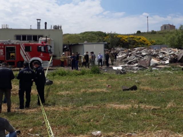 Başakşehirde bir fabrikanın kazan dairesinde patlama