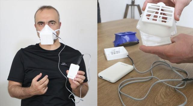 Aksaray Üniversitesinden virüsleri yok eden elektronik maske