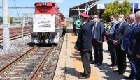 Marmaray'dan geçen yük treni Tekirdağ'da