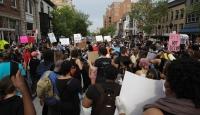 Floyd'un öldürülmesine yönelik protestolar devam ediyor