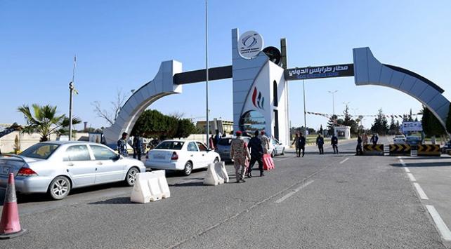 Libyada UMH güçleri Uluslararası Trablus Havalimanına girdi