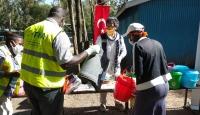 TİKA'dan Kenya'da ihtiyaç sahibi ailelere yardım yapıldı