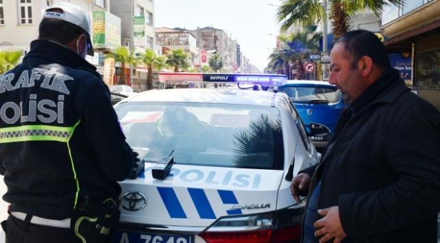 Manisada kısıtlamaya uymayan 316 kişiye cezası