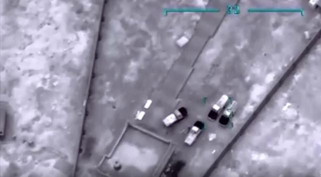 Libya ordusu Hafter milislerine ait 3 askeri aracı imha etti