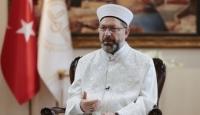 Ali Erbaş: Maske, mesafe ve imanın yarısı temizliğe devam edelim