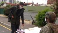 Asker adaylarına koronavirüs testi yapılıyor